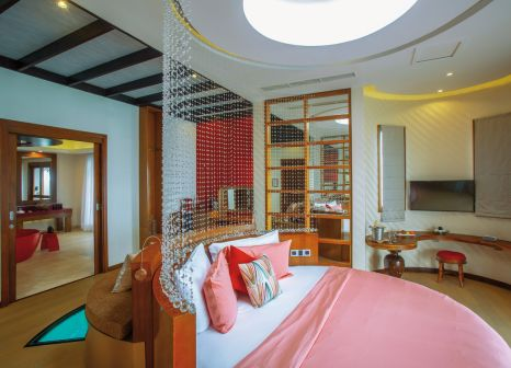 Hotelzimmer mit Volleyball im Oblu Select at Sangeli
