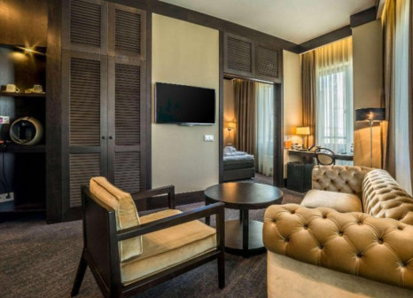 Hotelzimmer mit Mountainbike im Comfort Hotel LT