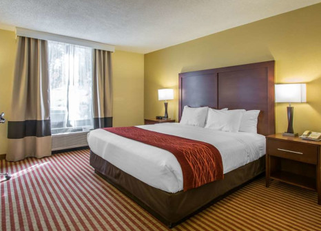 Hotelzimmer mit Aerobic im Comfort Inn Maingate