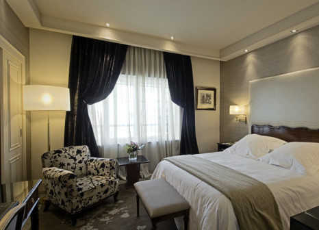 Hotelzimmer mit Mountainbike im Wellington