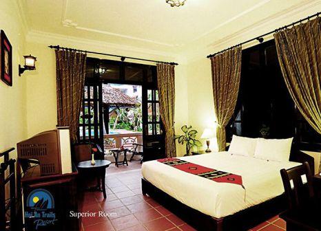 Hotelzimmer mit Mountainbike im Hoi An Trails Resort