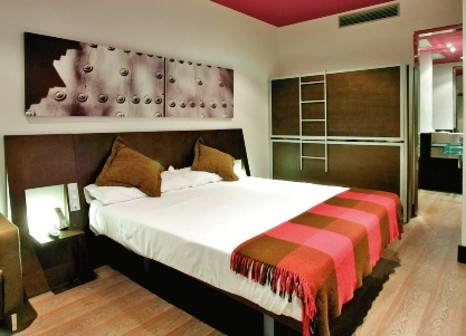 Hotelzimmer mit Golf im Petit Palace Marqués Santa Ana