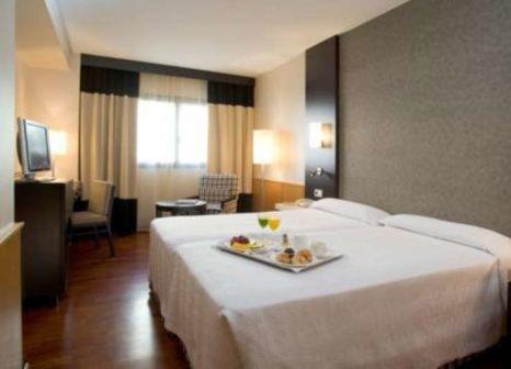 Hotelzimmer mit Golf im NH Ciudad de Valencia