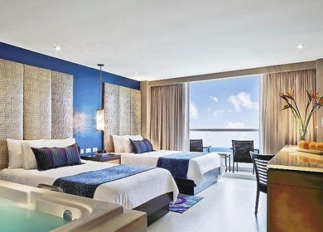 Hotelzimmer mit Volleyball im Hard Rock Hotel Cancun