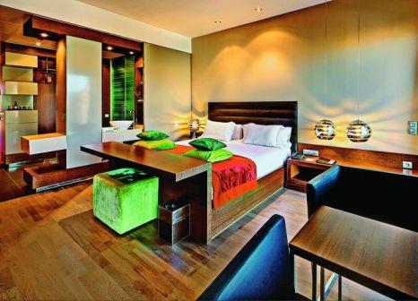 Hotelzimmer mit Restaurant im Olivia Plaza Hotel