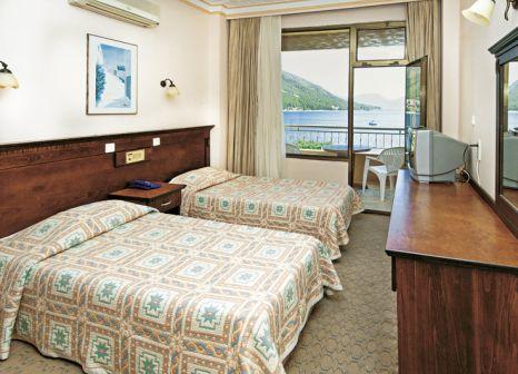 Hotelzimmer mit Tischtennis im Gölmar Beach
