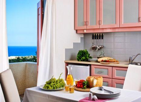 Hotelzimmer mit Tischtennis im Galaxy Villas Crete