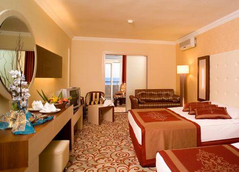Hotelzimmer mit Volleyball im Beach Club Doganay