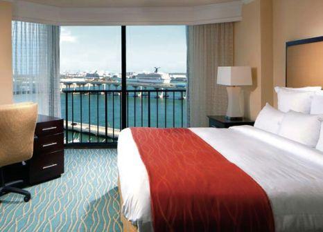 Hotelzimmer mit Wassersport im Miami Marriott Biscayne Bay