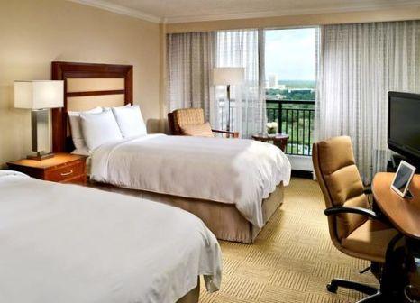 Hotelzimmer mit Mountainbike im Marriott Orlando World Center