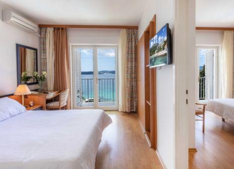 Hotelzimmer mit Tennis im Orsan Hotel by Aminess