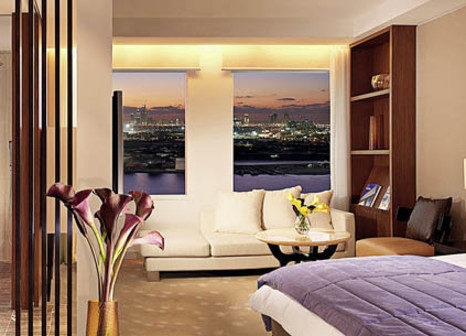 Hotelzimmer mit Aerobic im InterContinental Dubai Festival City