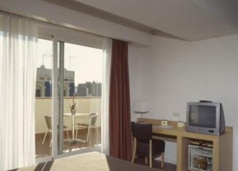 Hotelzimmer mit Pool im Hotel Sagrada Familia