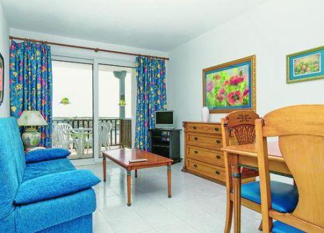 Hotelzimmer mit Volleyball im Isla Paraiso