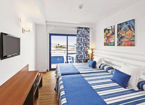Hotelzimmer mit Tischtennis im Tahiti Playa