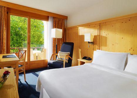 Hotelzimmer mit Minigolf im Hotel Waldhuus