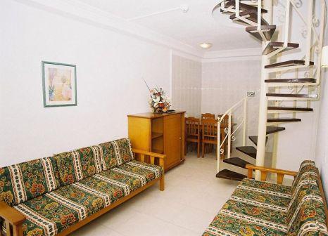 Hotelzimmer mit Mountainbike im Barranco Bungalows