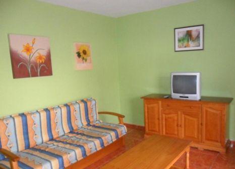 Hotelzimmer mit Mountainbike im Apartamentos Cumana