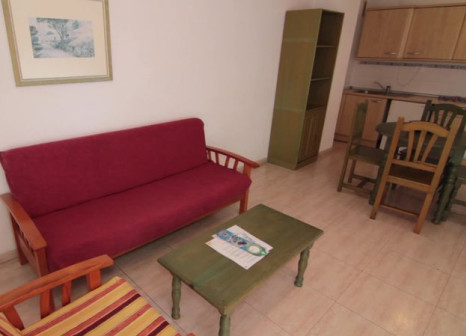 Hotelzimmer mit Tennis im Apartamentos Alta