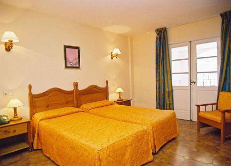 Hotelzimmer mit Mountainbike im Pueblo Torviscas Holiday Apartments