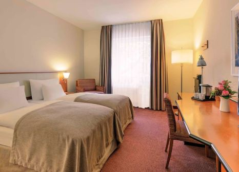 Hotelzimmer mit Animationsprogramm im Mercure Hotel Duesseldorf City Center