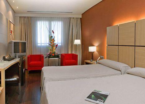 Hotelzimmer mit Fitness im Silken Puerta Valencia