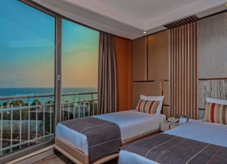 Hotelzimmer mit Fitness im Kirman Arycanda De Luxe