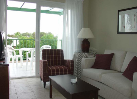 Hotelzimmer mit Golf im Apartamentos Guacimeta