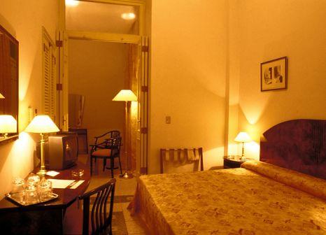 Hotelzimmer mit Mountainbike im Hotel Ambos Mundos