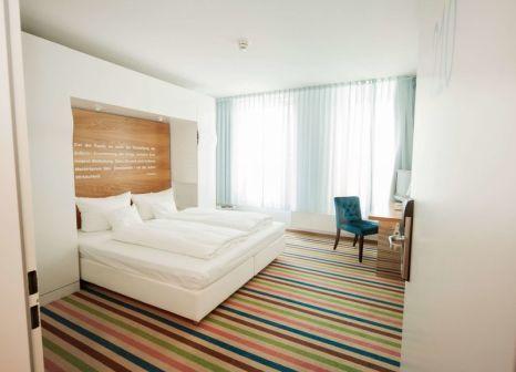 Hotelzimmer mit Klimaanlage im Mercure Hotel Art Leipzig