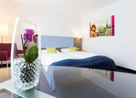 Hotelzimmer mit Fitness im Ibis Styles Leipzig