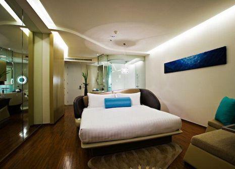 Hotelzimmer mit Mountainbike im Baraquda Pattaya - MGallery by Sofitel