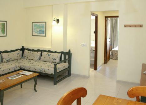 Hotelzimmer mit Sandstrand im Carabela II Appertments