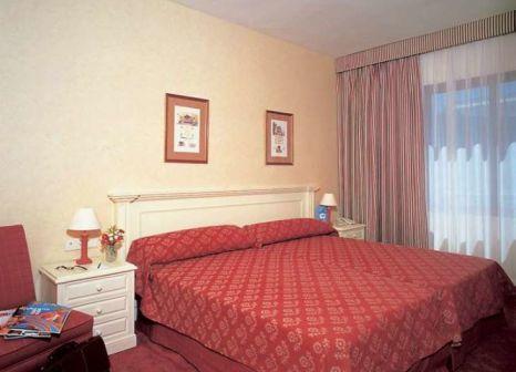 Hotelzimmer mit Restaurant im Hotel ILUNION Suites Madrid