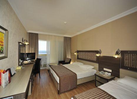 Hotelzimmer mit Volleyball im Kirbiyik Resort Hotel