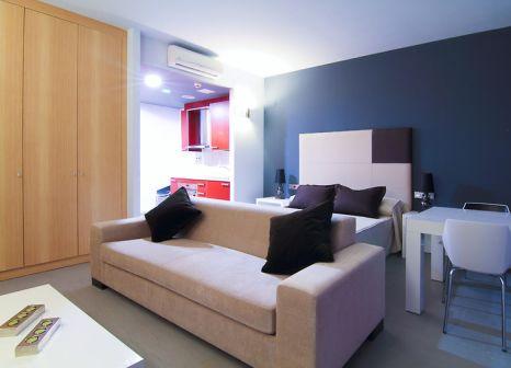 Hotelzimmer mit Golf im Aparthotel Four Elements Suites