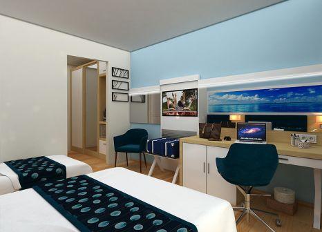 Hotelzimmer mit Volleyball im Club Aqua Plaza