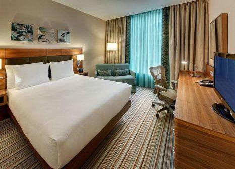 Hotelzimmer mit Aerobic im Hilton Garden Inn Frankfurt Airport