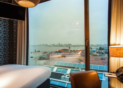 Hotelzimmer mit Kinderbetreuung im DoubleTree by Hilton Hotel Amsterdam - NDSM Wharf