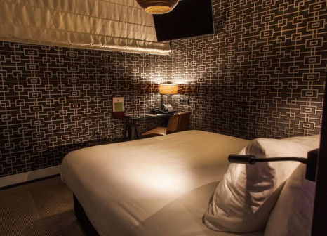 Hotelzimmer mit Mountainbike im DoubleTree by Hilton Hotel Amsterdam - NDSM Wharf
