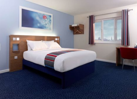 Hotelzimmer mit Restaurant im Travelodge London Docklands