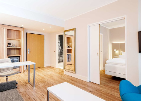 Hotelzimmer mit Animationsprogramm im NH Dortmund