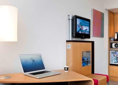 Hotelzimmer mit Animationsprogramm im Novotel Zürich City-West