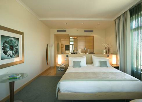 Hotelzimmer mit Mountainbike im Hilton Diagonal Mar Barcelona