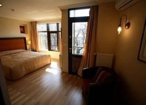 Hotelzimmer mit Sauna im Le Boutique Hotel Moxa
