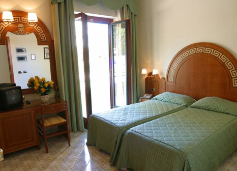 Hotelzimmer mit Mountainbike im Villa Igea
