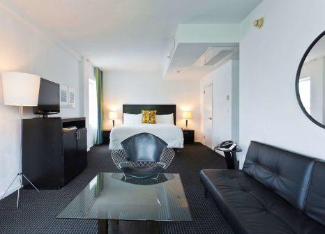 Hotelzimmer mit Hochstuhl im Albion