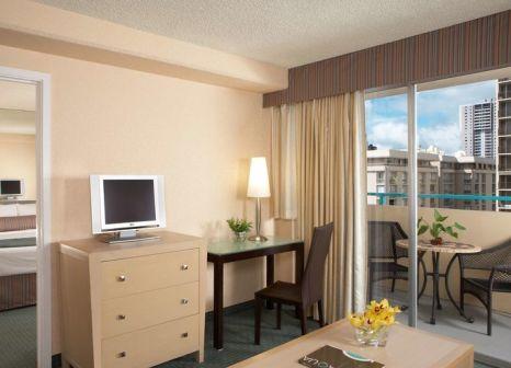 Hotelzimmer mit Pool im Aqua Aloha Surf Waikiki
