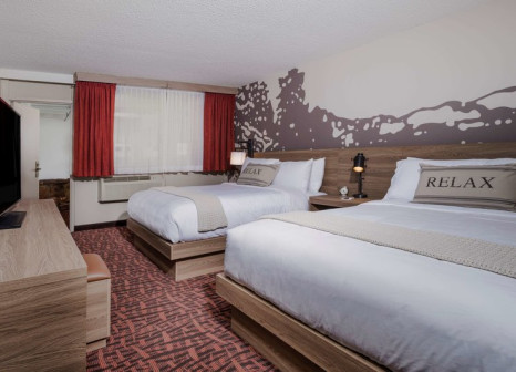 Hotelzimmer mit Fitness im The Ridgeline Hotel Estes Park, an Ascend Hotel Collection Member