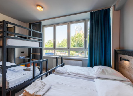 Hotelzimmer mit Familienfreundlich im a&o Hamburg City